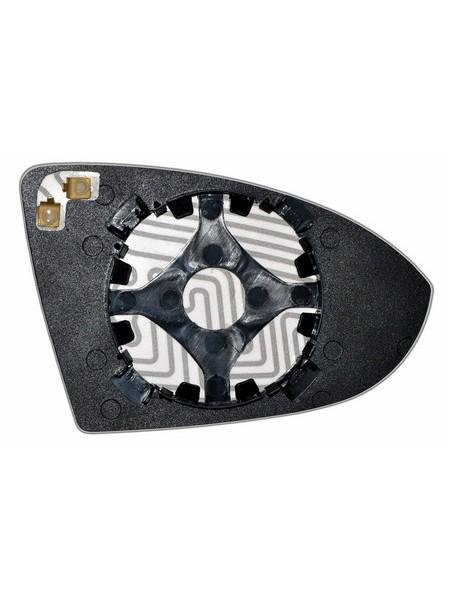 Элемент зеркала VOLKSWAGEN Golf VII 2012-н вр левый асферический с обогревом 93301206