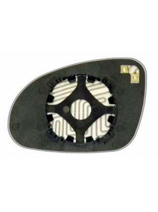 Элемент зеркала VOLKSWAGEN Passat B6 2005-н вр правый асферический с обогревом 93600500