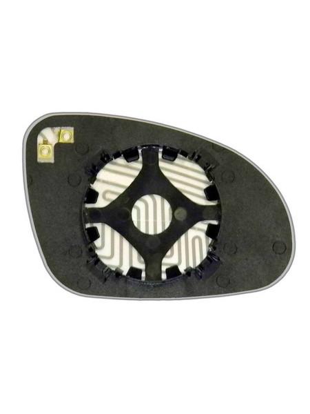 Элемент зеркала VOLKSWAGEN Passat B6 2005-н вр левый сферический с обогревом 93600508