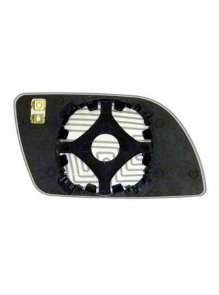 Элемент зеркала VOLKSWAGEN Polo IV 2002-н вр левый асферический с обогревом 93640206