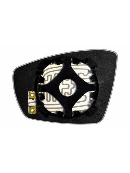 Элемент зеркала VOLKSWAGEN Polo V Coupe 2010-н вр правый асферический с обогревом 93641000