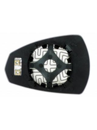 Элемент зеркала AUDI A3 2012-н вр правый сферический с обогревом 94131109