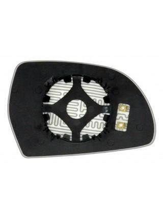 Элемент зеркала AUDI Q3 2011-н вр левый асферический с обогревом 94531106