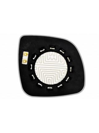 Элемент зеркала AUDI Q7 2007-н вр левый асферический с обогревом 94570706