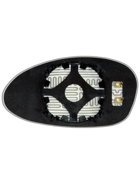 Элемент зеркала BMW 1 E82 2007-н вр правый асферический с обогревом 99820400