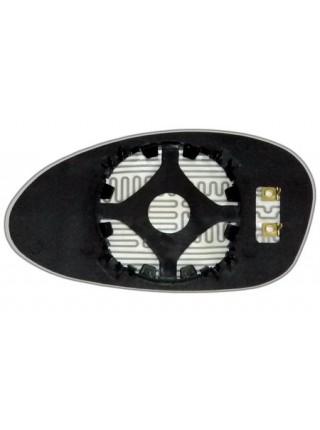 Элемент зеркала BMW 1 E82 2007-н вр правый сферический с обогревом 99820409